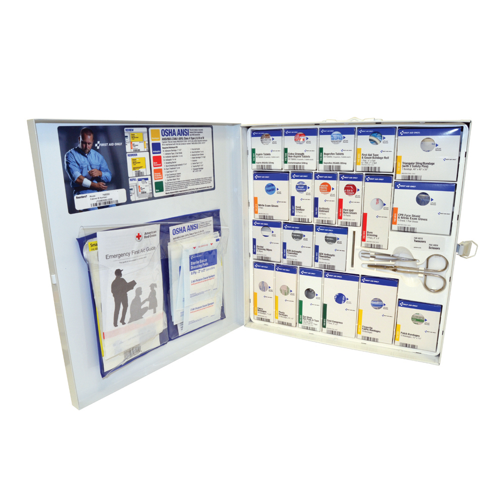 50 Person Smart Compliance First Aid Kit