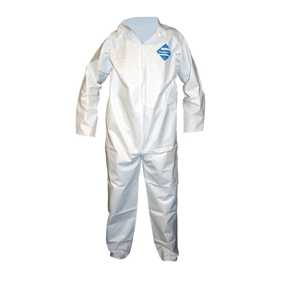 2X-Large White Breathable Microporous Film Laminate A40 Liquid and Particle Protection Apparel