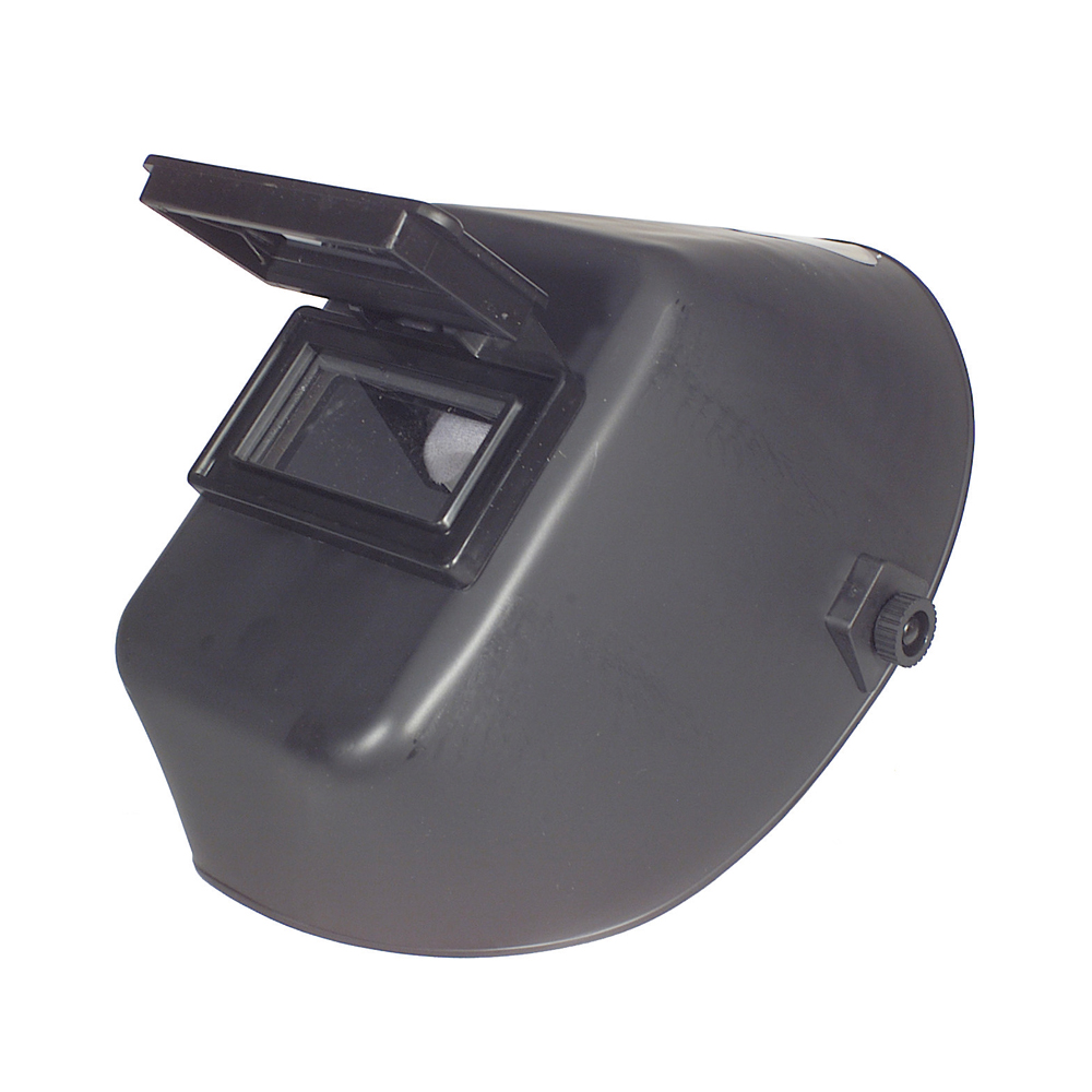"4-1/2"" x 5-1/4"" Welding Helmet Fixed Front Lens Black"