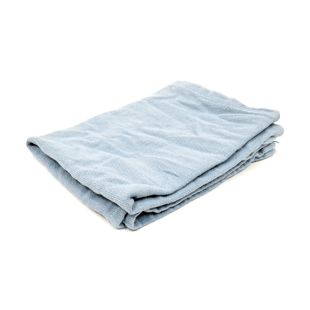 10 Lb Box Blue Cotton Surgical Towel