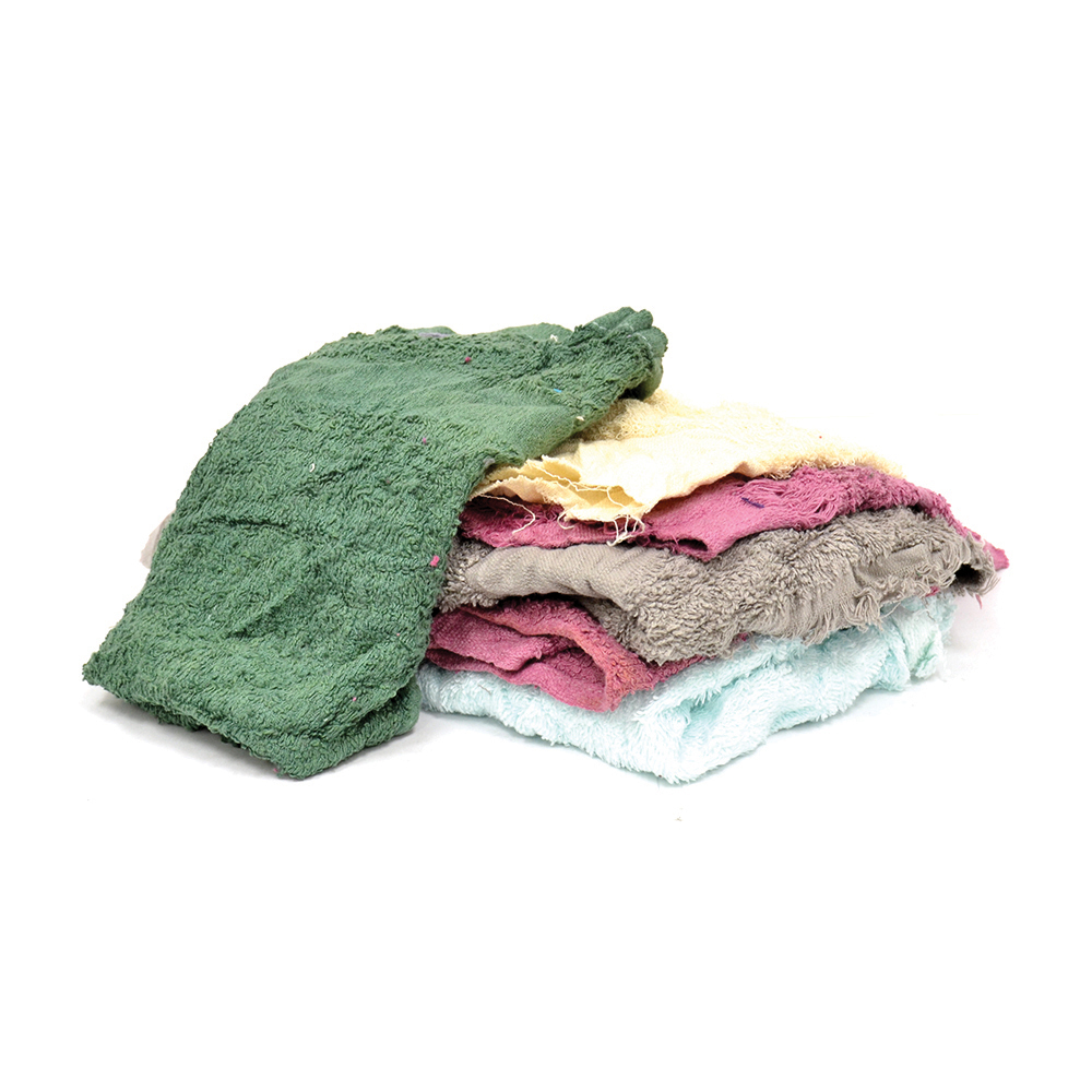 10 Lb Box Assorted Turkish/Terry Cloth Rag