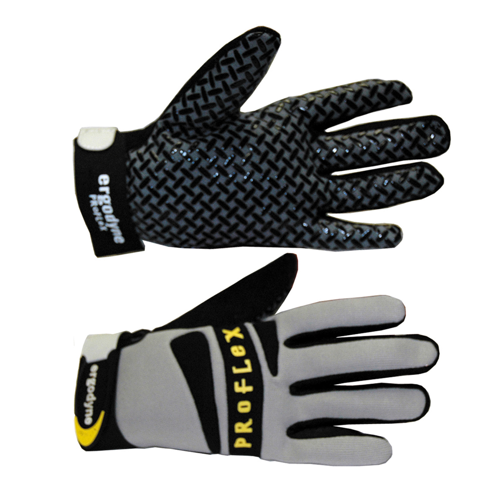 Proflex Hi Grip Work Gloves Pair Large Black