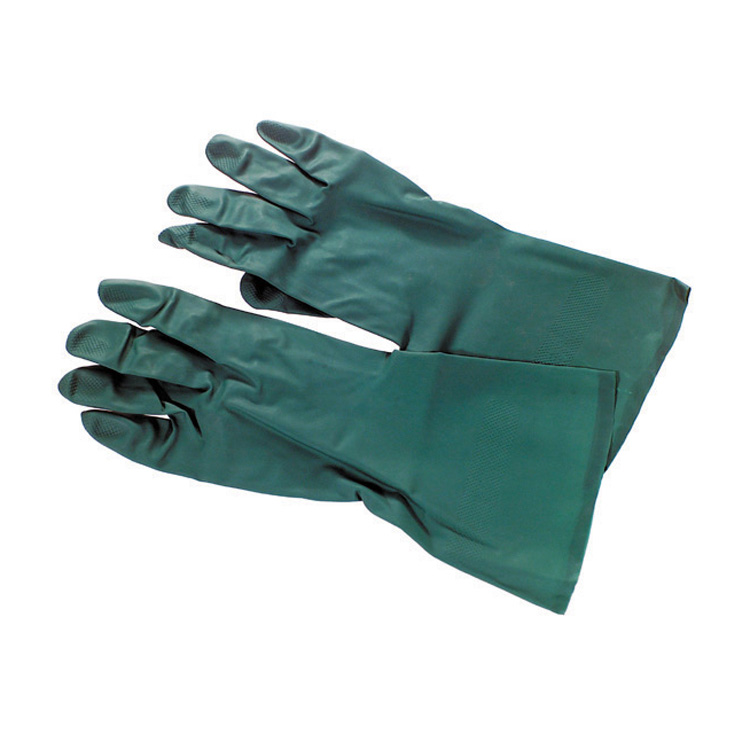 Green Nitrile Gloves Large (Case of 48 Pair)