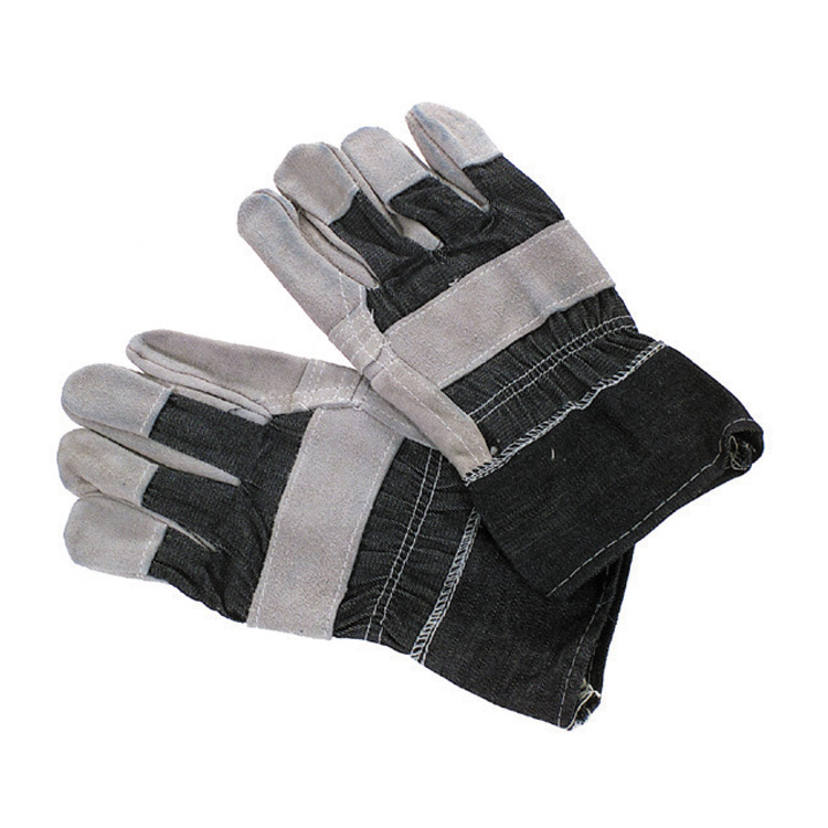 Large Cowhide Leather Standard Duty Leather Palm Work Glove