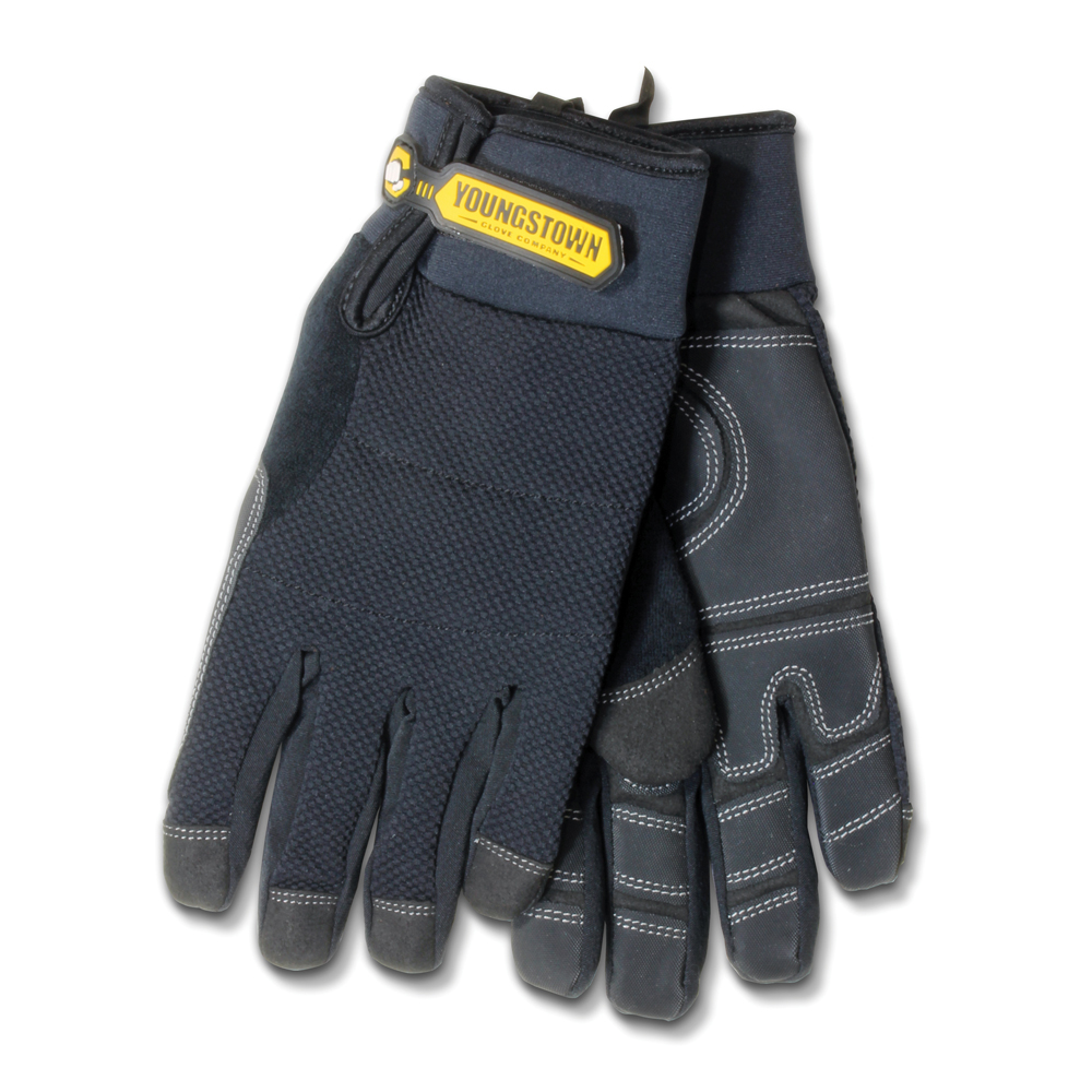 Large Synthetic Leather Base Layer Palm Waterproof Winter Plus Glove