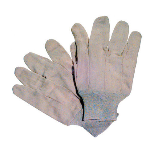Large Natural 100% Cotton Standard Canvas Glove