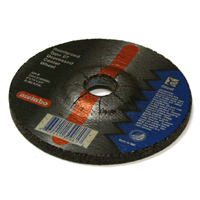 4 Inch x 1/4 Inch x 5/8 Inch A24R Grit Aluminum Oxide Small Grinding Wheel