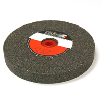 10 Inch x 1 Inch x 1-1/4 Inch 24 (Coarse) Grit Brown Aluminum Oxide Type 1 Bench Grinding Wheel