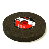 4-1/2 Inch x 5/32 Inch x 7/8 Inch 36 (Medium) Grit Green Aluminum Oxide Type 27 Bench Grinding Wheel