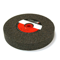 6 Inch x 1 Inch x 1 Inch 24 (Coarse) Grit Brown Aluminum Oxide Type 1 Bench Grinding Wheel