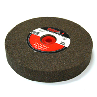 6 Inch x 1 Inch x 1 Inch 36 (Medium) Grit Brown Aluminum Oxide Type 1 Bench Grinding Wheel