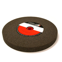 10 Inch x 1 Inch x 1-1/4 Inch 46 (Medium) Grit Brown Aluminum Oxide Type 1 Bench Grinding Wheel