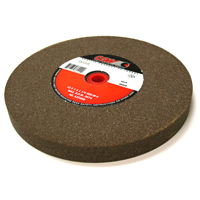 10 Inch x 1 Inch x 1-1/4 Inch 60 (Medium) Grit Brown Aluminum Oxide Type 1 Bench Grinding Wheel