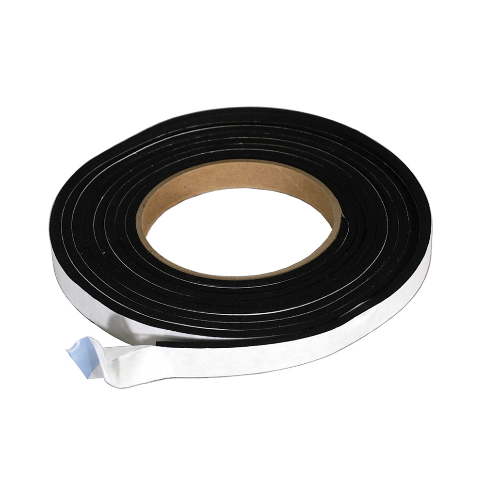 5/16 Inch x 1 Inch Single Faced Weather Strip 50 Roll