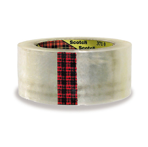 2 Inch x 330 3M Tartan Packaging Tape 3710 Clear Case of 36