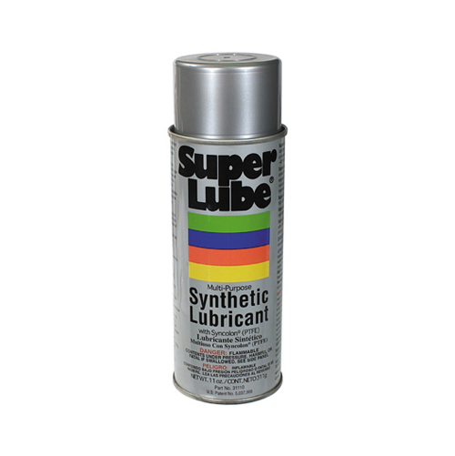 Super Lube Multi-Purpose Synthetic Lubricant Aerosol With Ptfe - 11 oz Net Contents