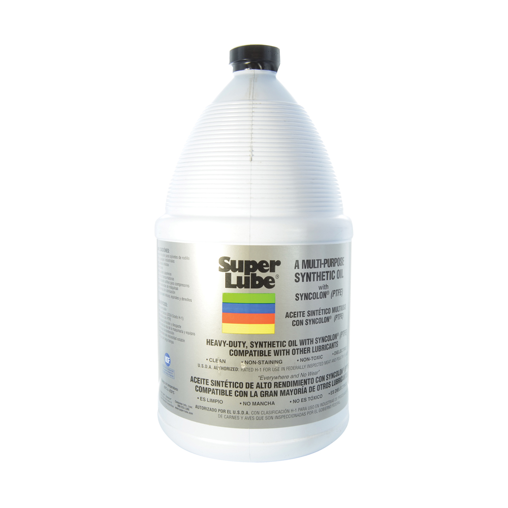 Super Lube Synthetic Oil With Ptfe - 1 Gallon