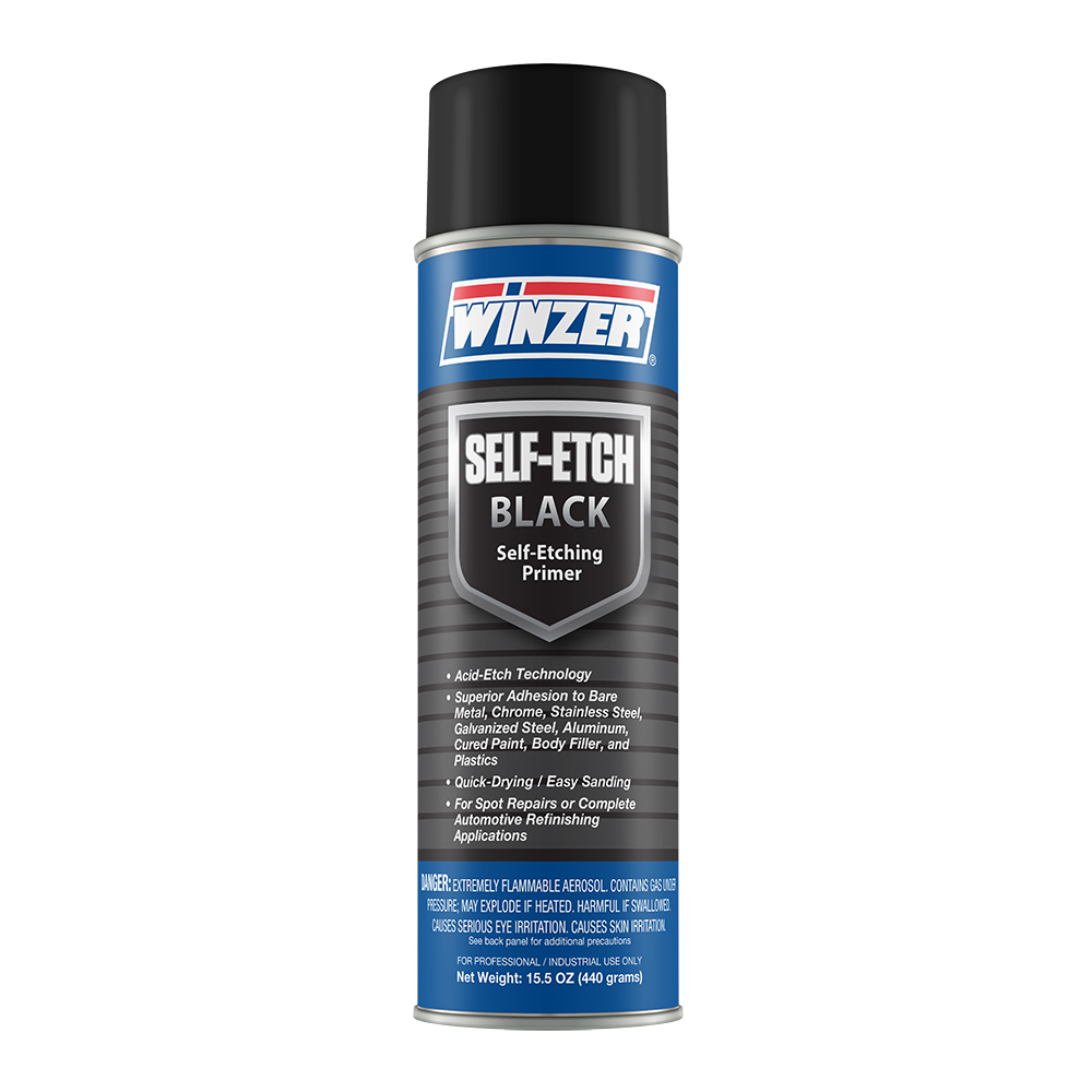 Winzer Self-Etching Primer Black - 15.5 oz