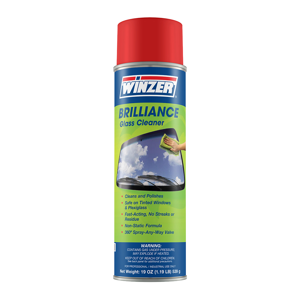 Brilliance Non-Ammoniated Professional Strength Glass Cleaner 19 oz