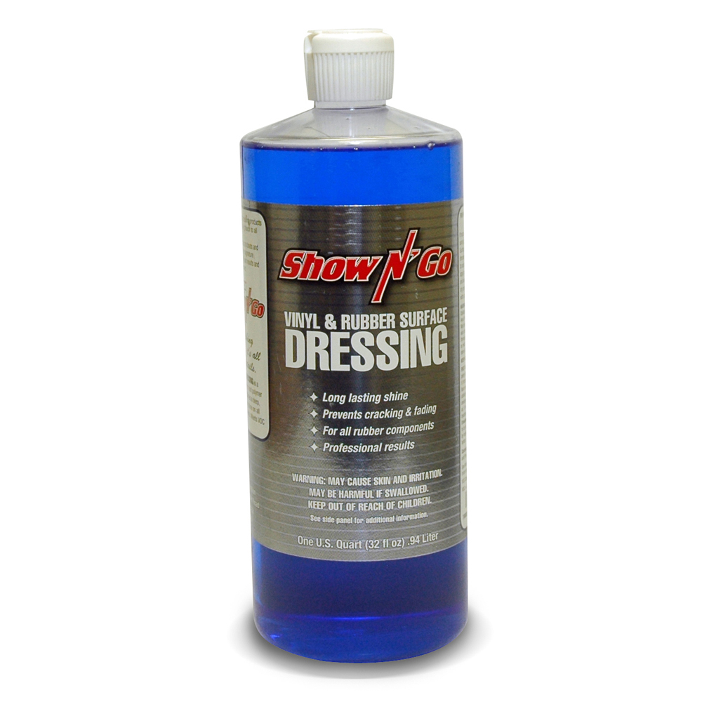 Show N Go Vinyl and Rubber Exterior Surface Dressing 1 Quart (32 oz) - Pack of 12