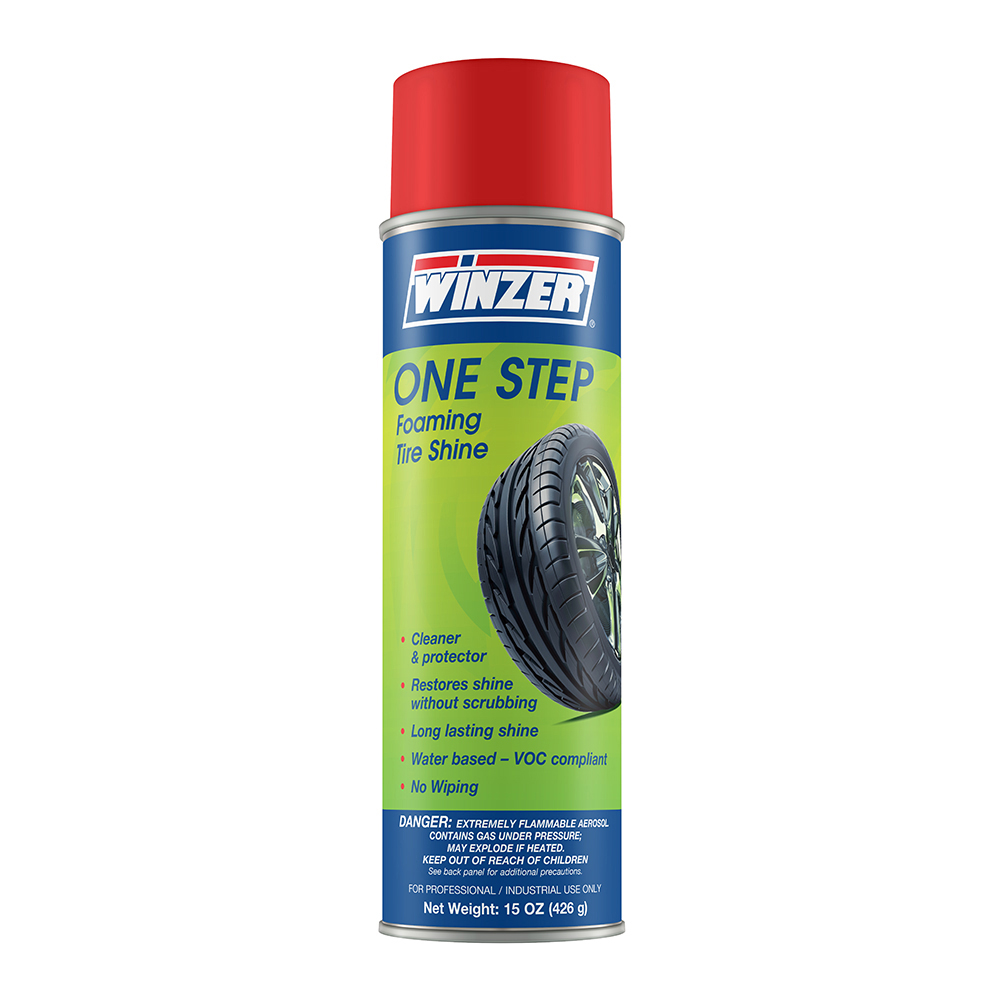 One Step Foaming Tire Shine - 15 oz