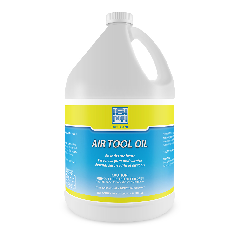Isi-Poly Professional-Strength Air Tool Oil - 1 Gallon