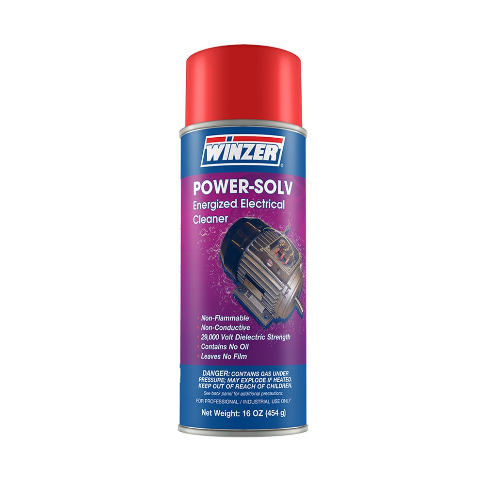 Winzer Power-Solv Energized Electrical Cleaner - 16 oz