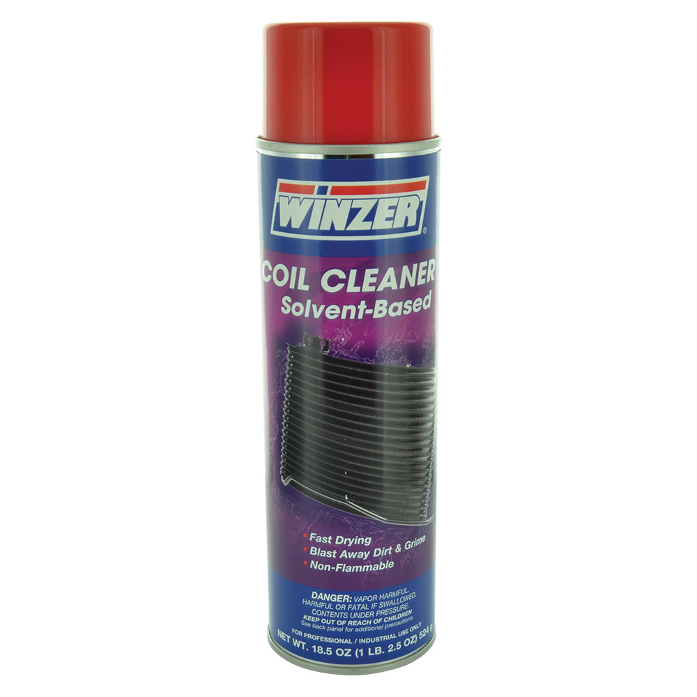 Winzer Solvent-Based Non-Flammable Coil Cleaner - 20 oz