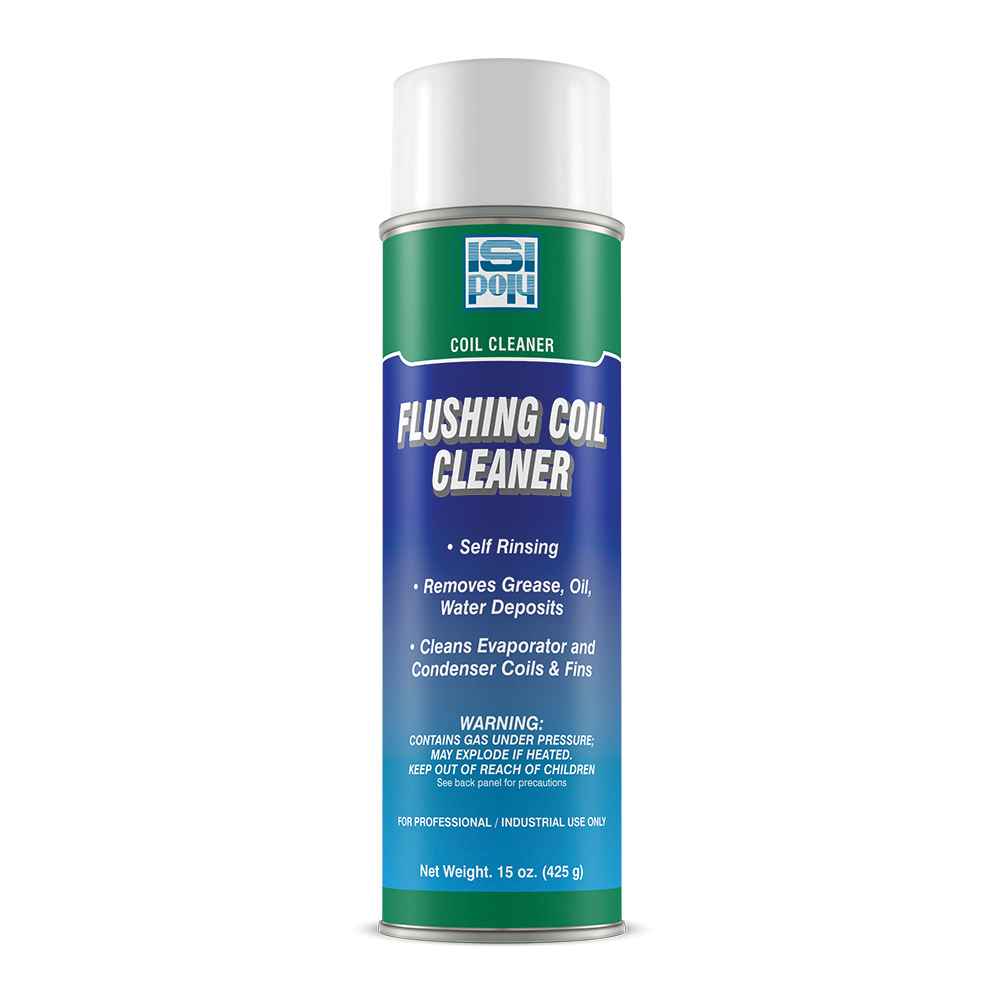 Isi-Poly Flushing Condenser Coil Cleaner - 15 oz