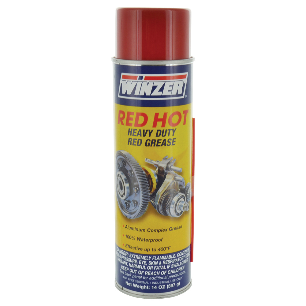 12-Pack Red Hot Grease Spray