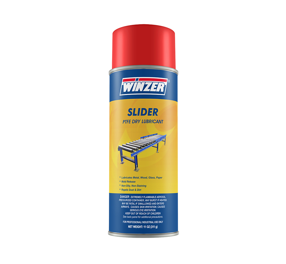 Slider Ptfe Dry Lubricant - 11 Ounce