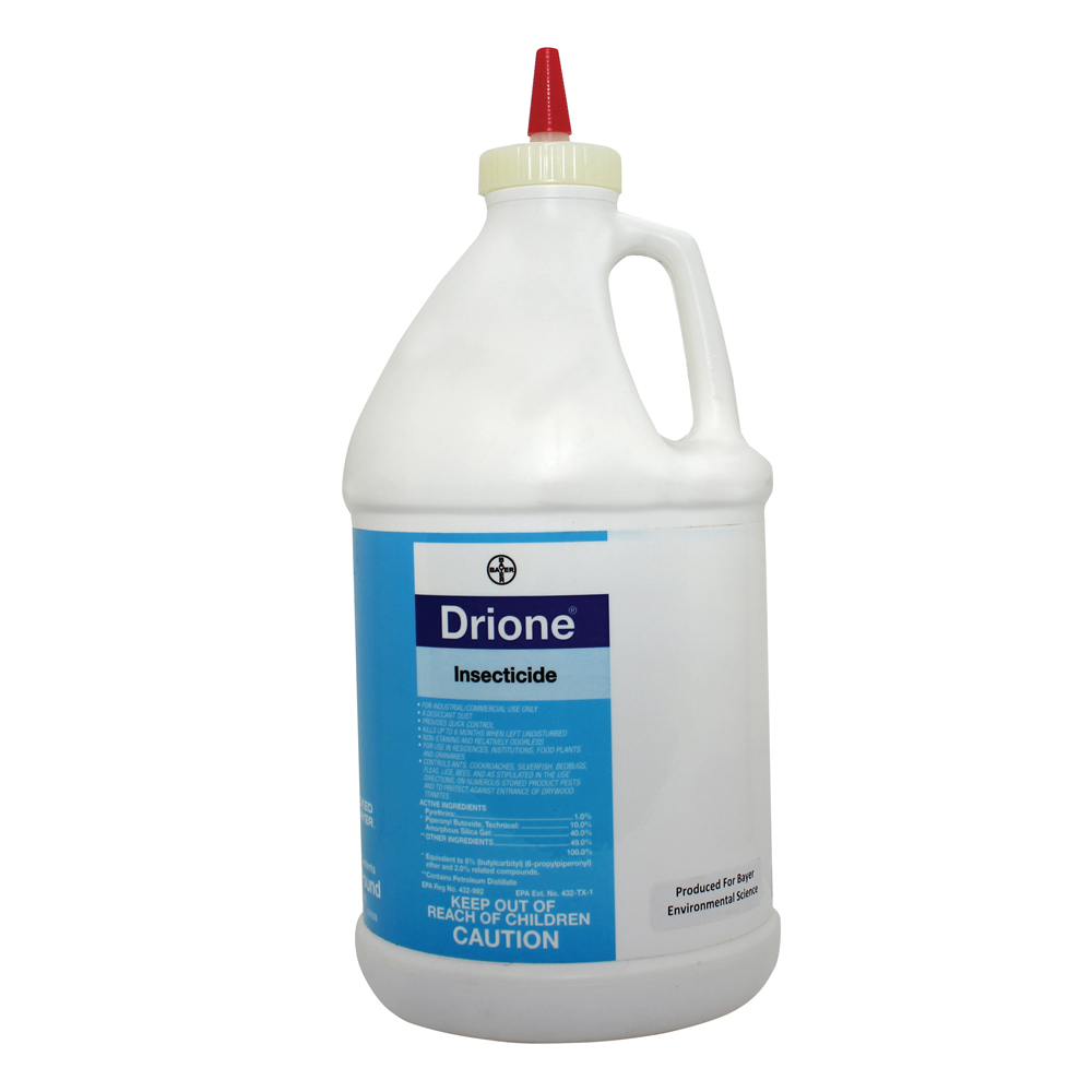 1 Lb Drione Insecticide Dessicant Dust Bottle