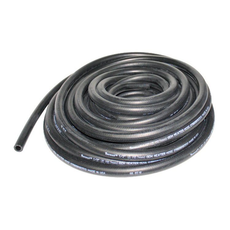 1 Inch x 50 ft Roll Black Epdm Heater Hose