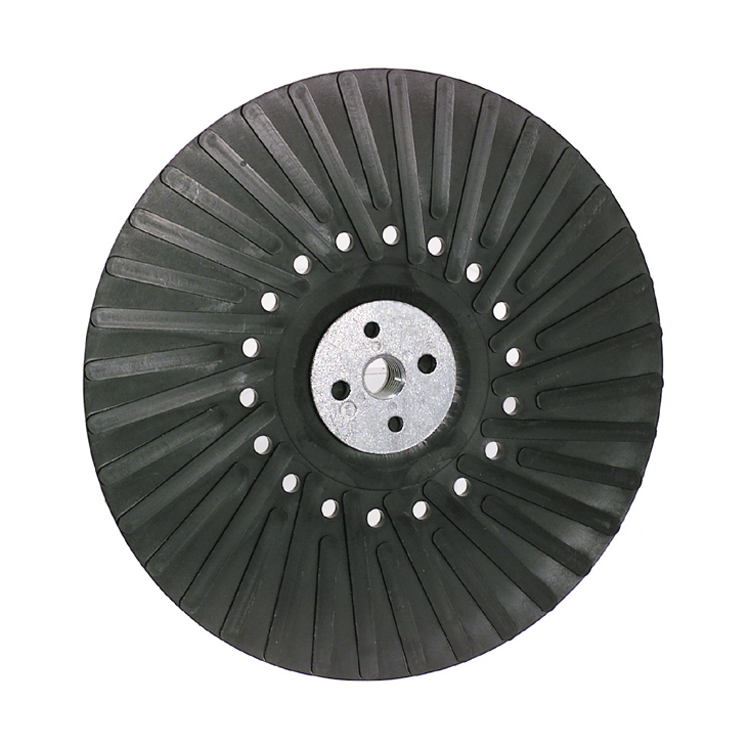 4-1/2 Inch x 5/8 Inch-11 Center Nut Back-Up Pad For Resin Fibre Disc