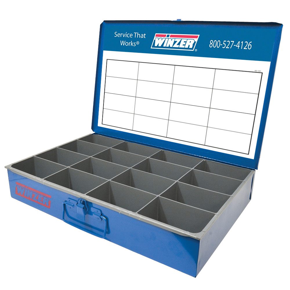 1400 Piece Solderless Nylon Insulated Terminals Large Drawer Assortment With Space Saver Rack