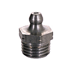 1/4-18 Passivated Stainless Steel Straight Standard Shank Vanguard Hydraulic Grease Fitting