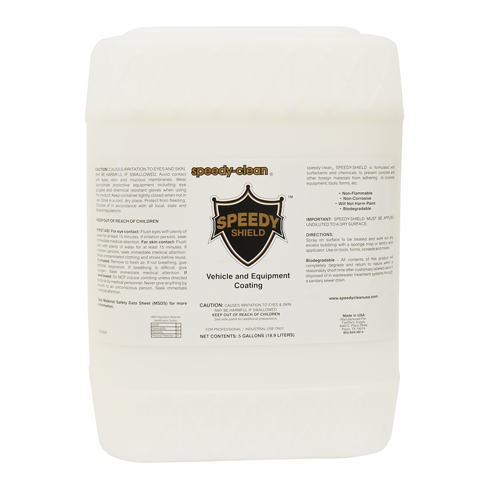 Speedy-Clean Speedy-Shield Vehicle and Equipment Coating - 5 Gallons