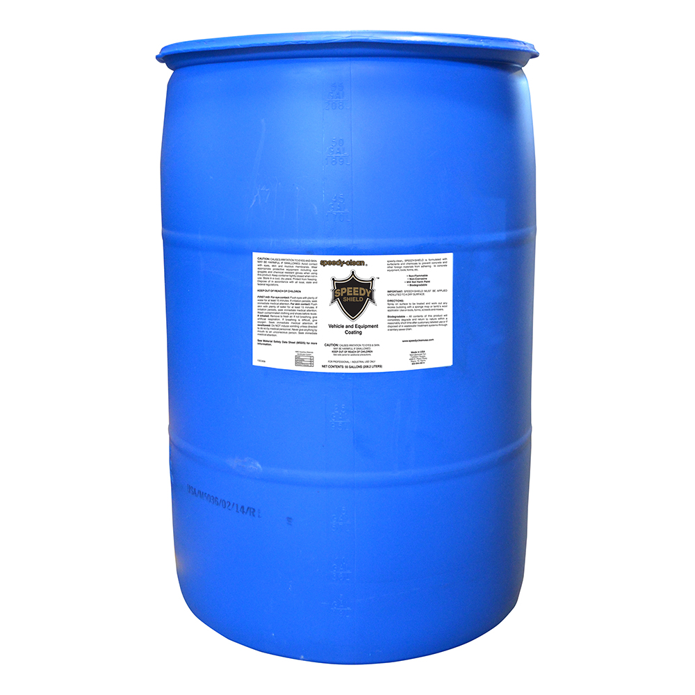 Speedy-Clean Speedy-Shield Vehicle and Equipment Coating - 55 Gallons