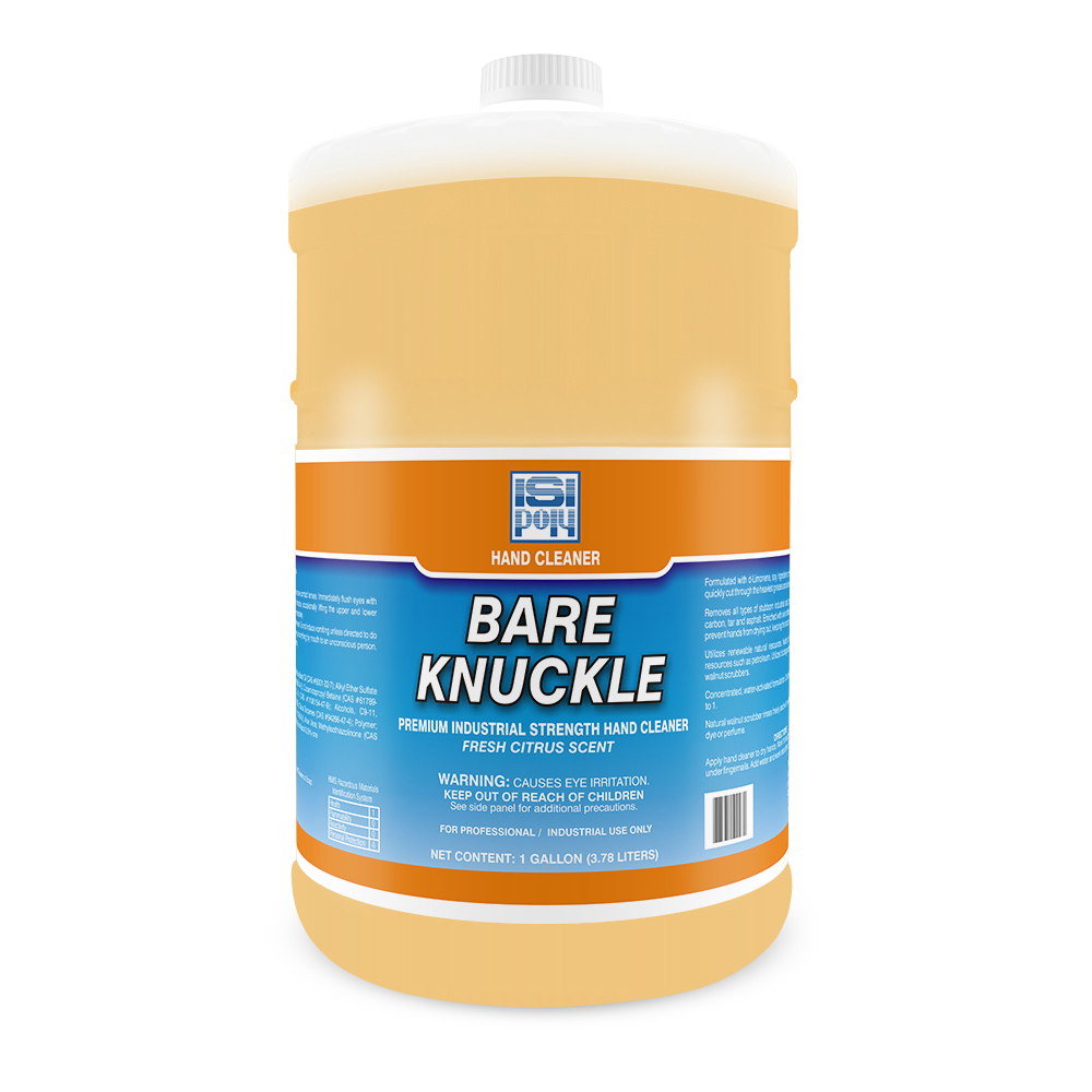 Isi Bare-Knuckle - 1 Gallon - Pack of 4 With Dispenser