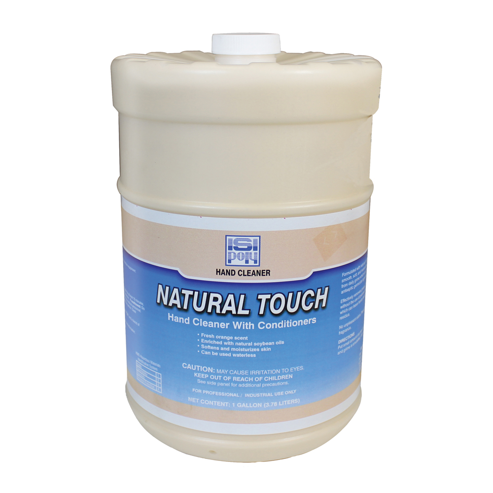 Isi-Poly Natural Touch With Dispenser - 1 Gallon - Pack of 4