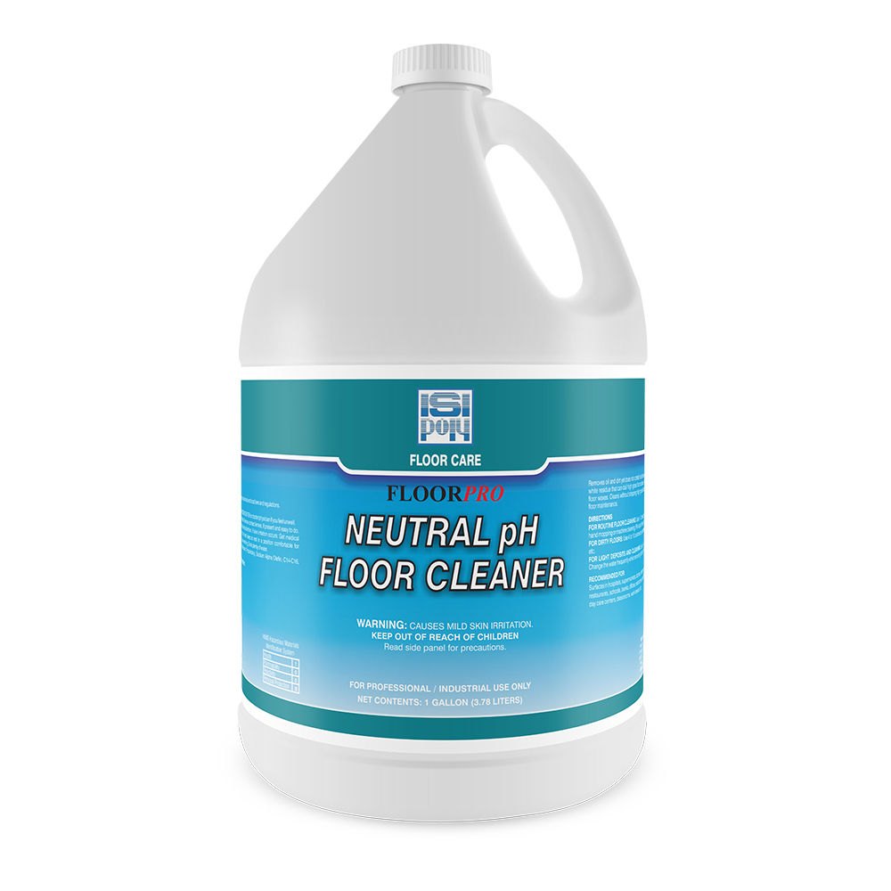 1 Gal Isi-Poly Neutral Ph Floor Cleaner