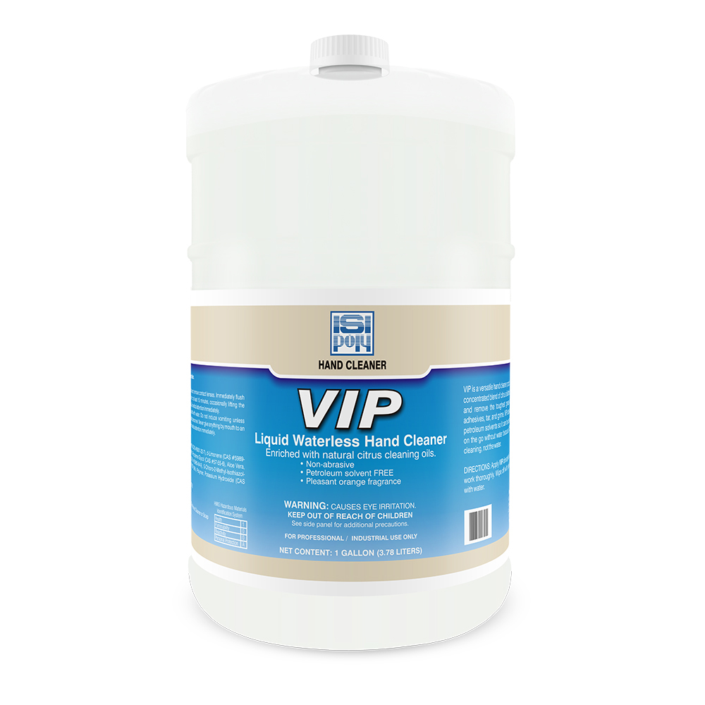 Isi-Poly Vip With Dispenser - 1 Gallon - Pack of 4