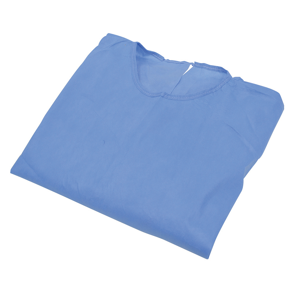 Blue Isolation Gowns One-Size - Pack of 10